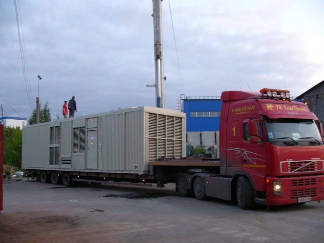 контейнер с большой ДГУ