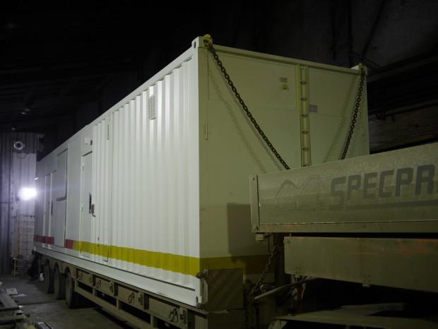 контейнер с ДГУ катерпиллер 1,25 МВт